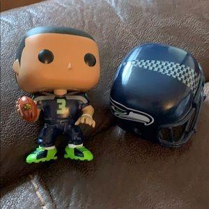 Seattle Seahawks Russell Wilson Funko POP